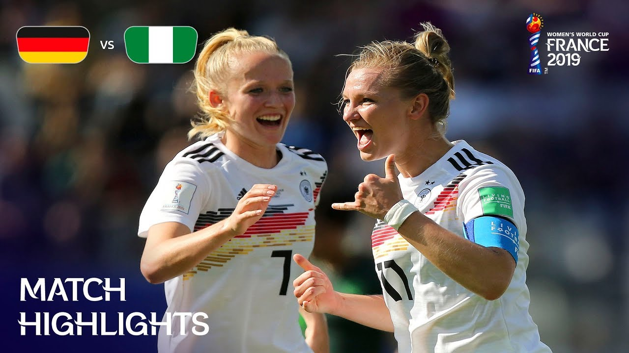 Photo of Germany v Nigeria – FIFA Women's World Cup France 2019™