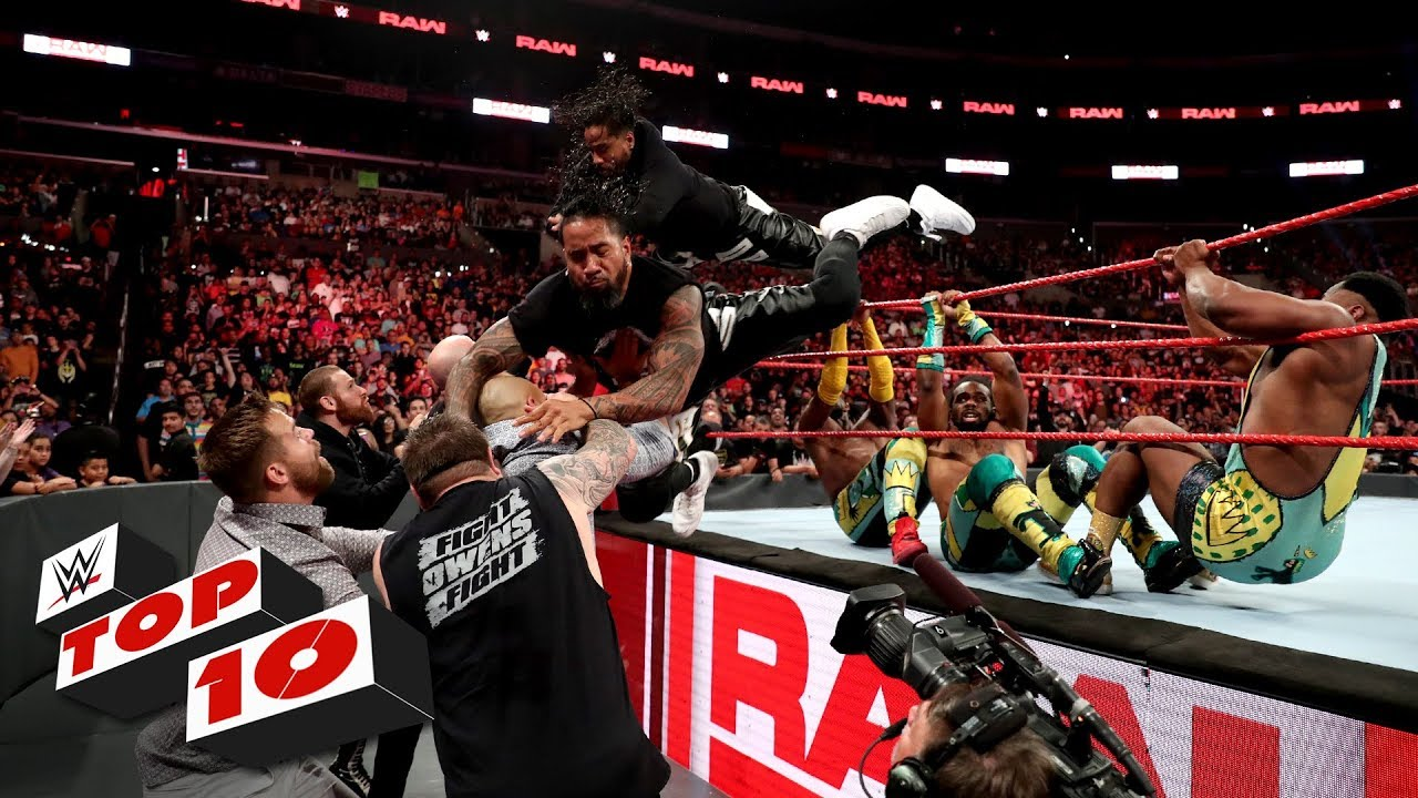 Top 10 Raw moments: WWE Top 10, June 17, 2019