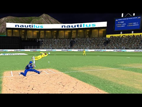 Photo of Final 12th May Mumbai Indians Vs Chennai Super Kings IPL 12 Real Cricket 2019 full Gameplay