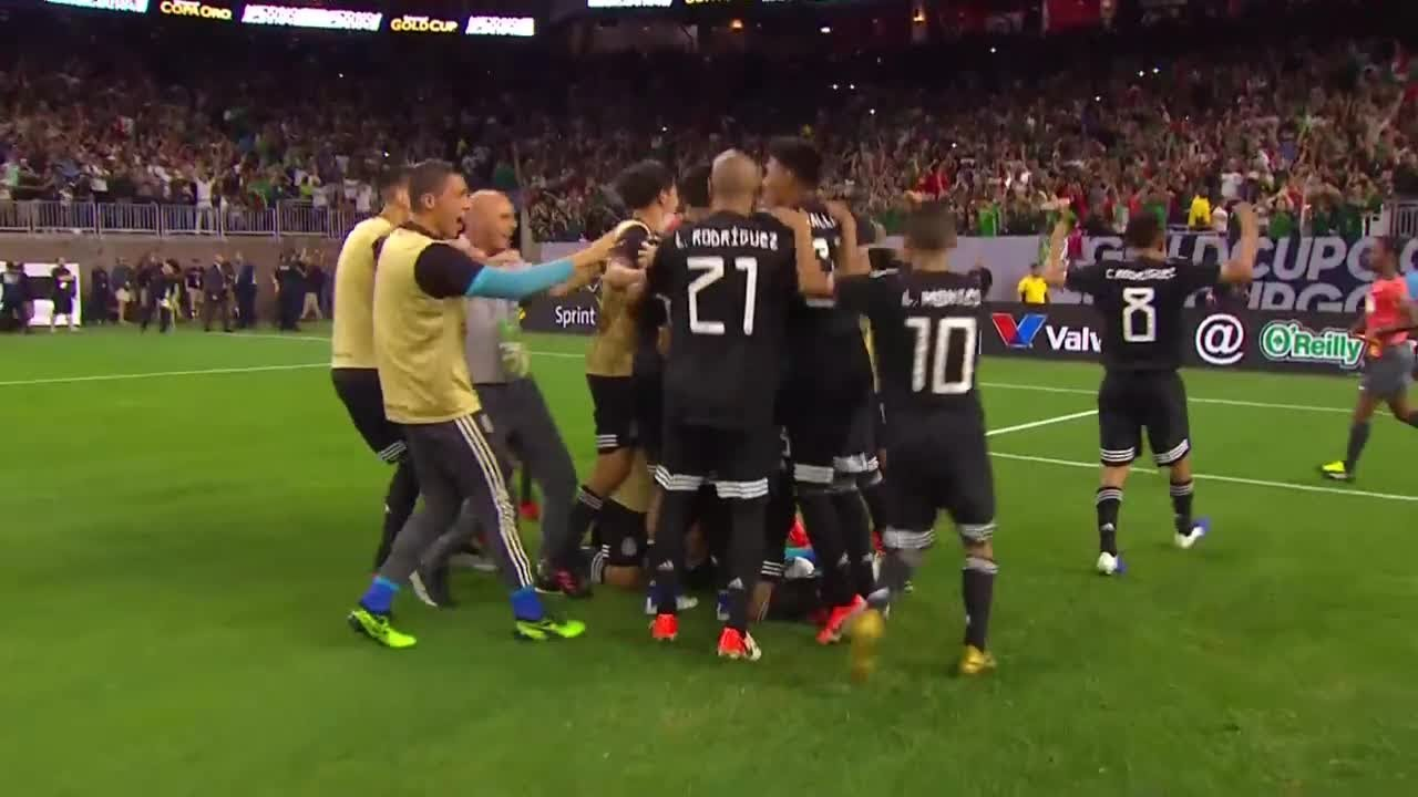 Mexico (1) 5 vs. Costa Rica (1) 4 – Gold Cup 2019