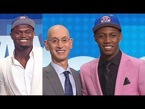 2019 NBA Draft Full First Round Picks! NBA Draft 2019