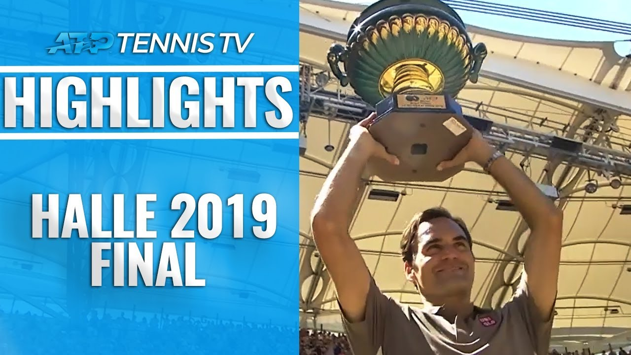 Photo of Federer Defeats Goffin For 10th Halle Title! | Halle 2019 Final Highlights