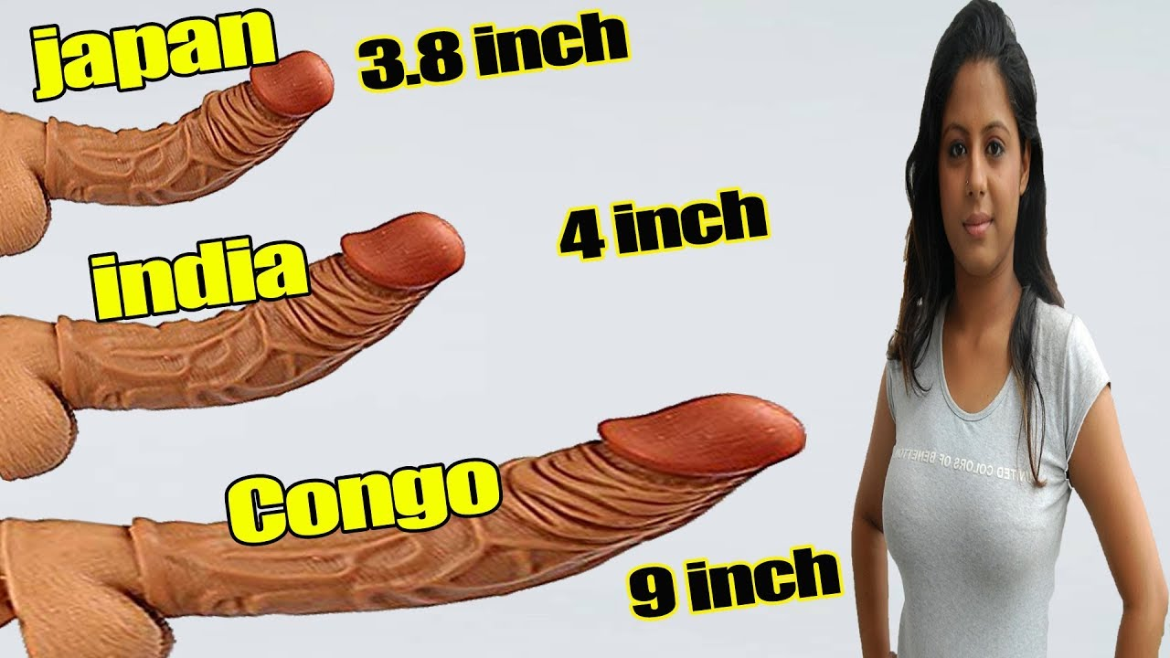 Top 10 country with largest pen!s size and smallest pen!s size || India vs Congo comparison