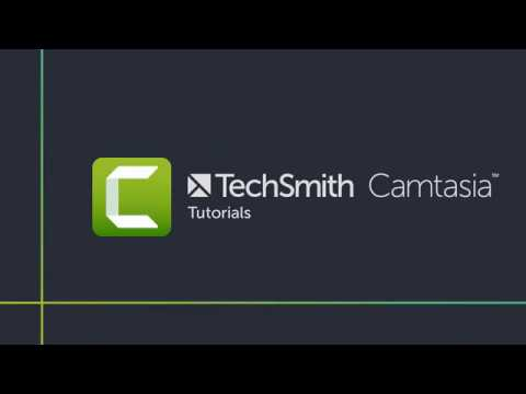 Camtasia Studio 9 Video Editing Full Tutorial For Beginners COMPLETE
