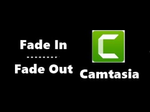 Photo of Camtasia Studio ''FadeIn – FadeOut Efekti
