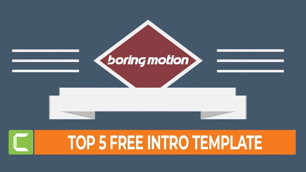 Photo of Top 5 Editable Intro Templates for Camtasia Studio | Free Intro Download #3