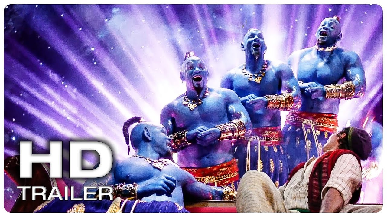 Photo of ALADDIN All Movie Clips + Trailer (2019)