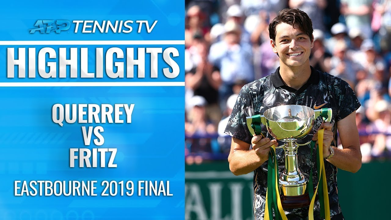 Photo of Taylor Fritz Wins First ATP Title! | Eastbourne 2019 Final Highlights