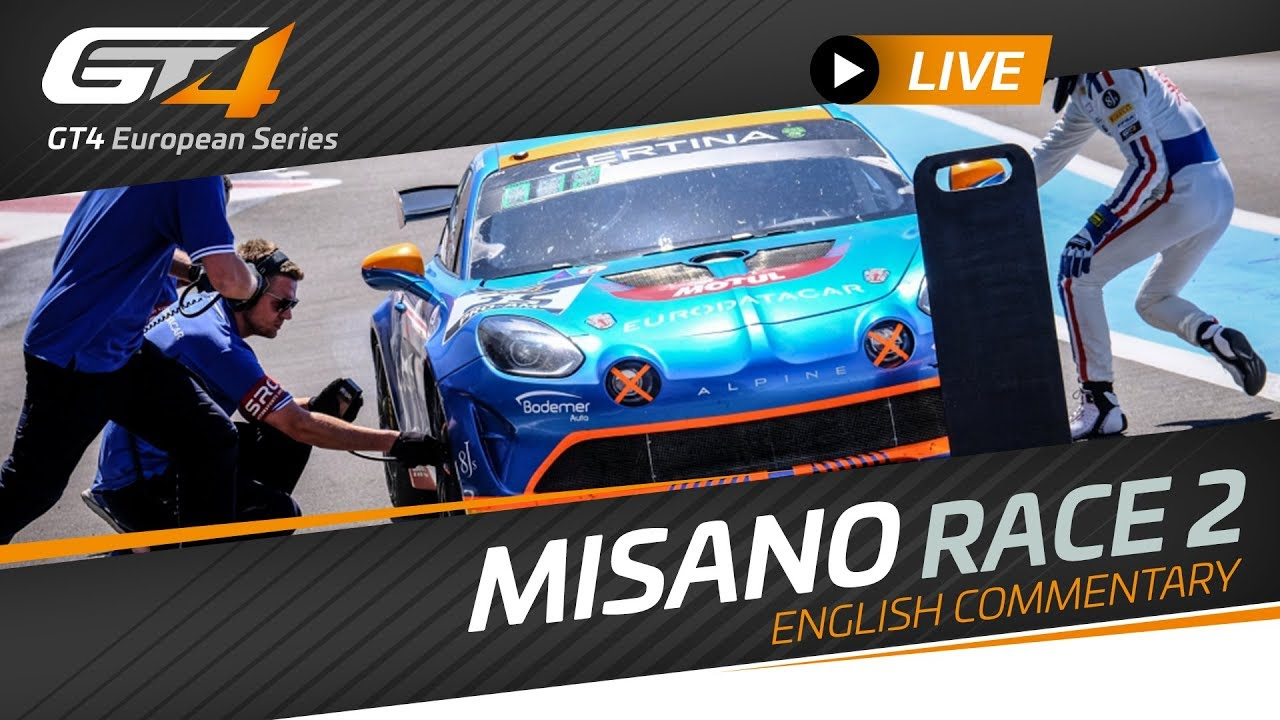 Photo of Race 2 – MISANO – GT4 – EUROPEAN SERIES 2019 – ENGLISH LIVE
