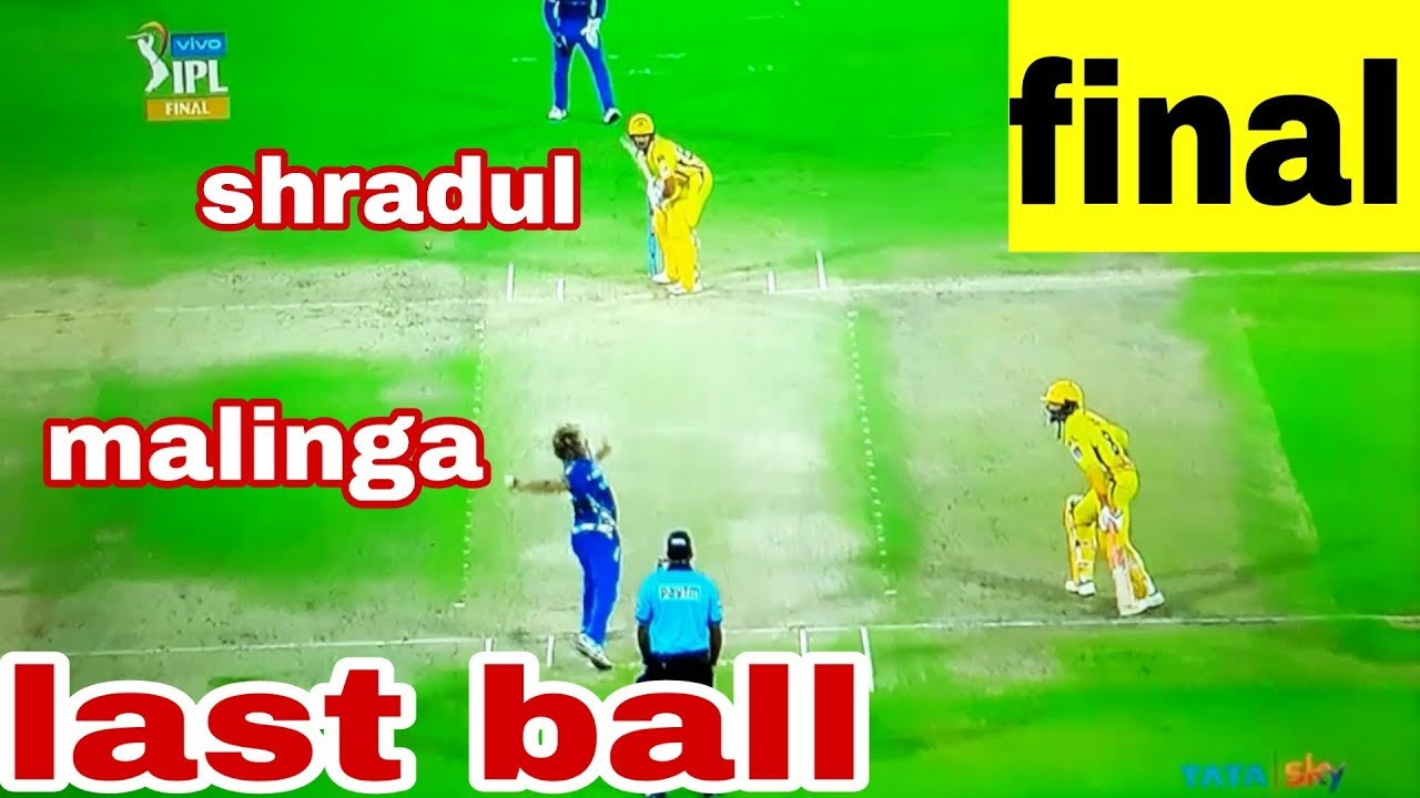Photo of malinga last over|mi vs csk full match highlights|ipl 2019 final match highlights|match review