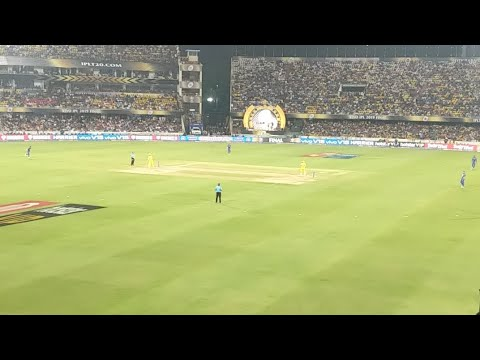 Photo of Controversial Dhoni run out – IPL Finals Live From Stadium – MI Vs CSK