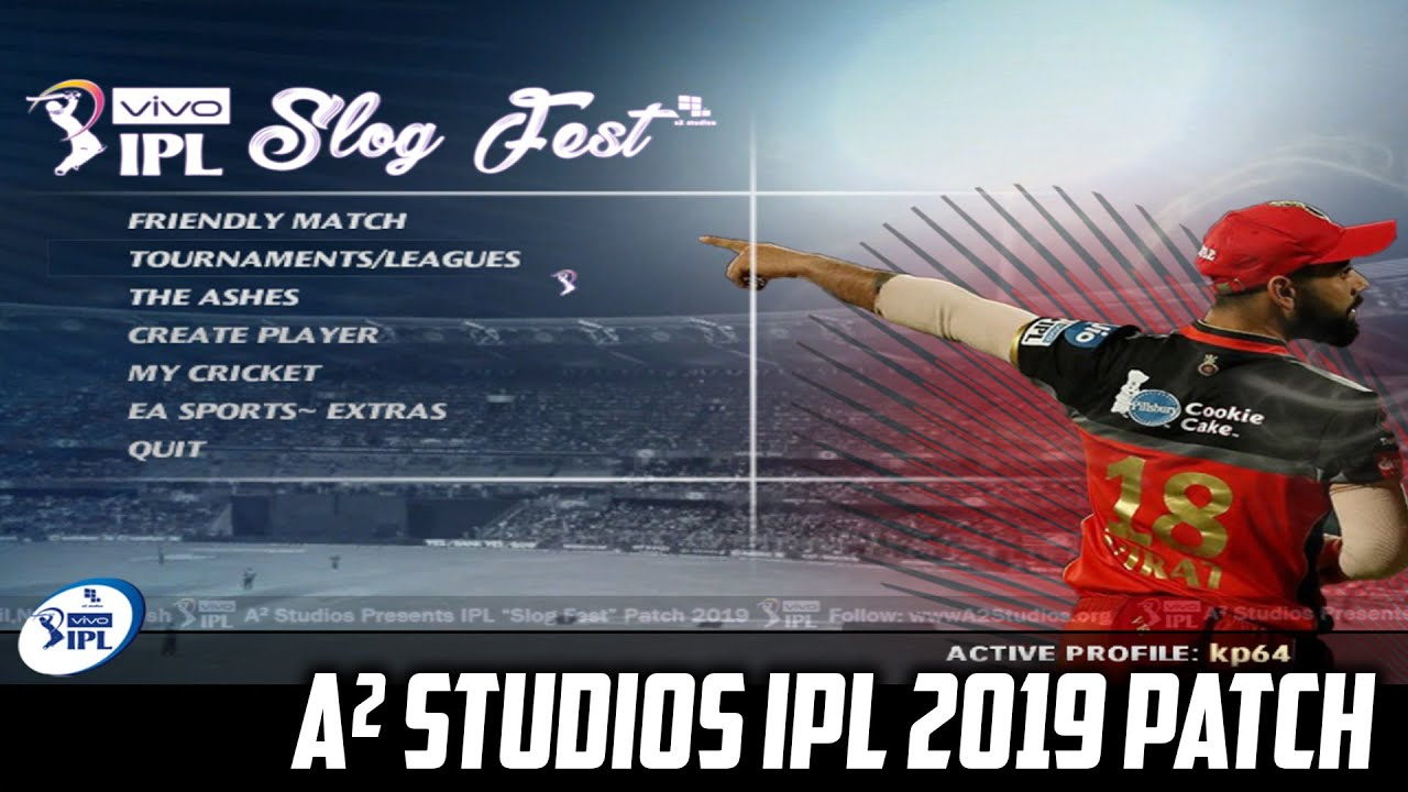 Photo of A2 Studios VIVO IPL 2019 Slogfest Patch for EA Sports Cricket 07 | How to download and Installation
