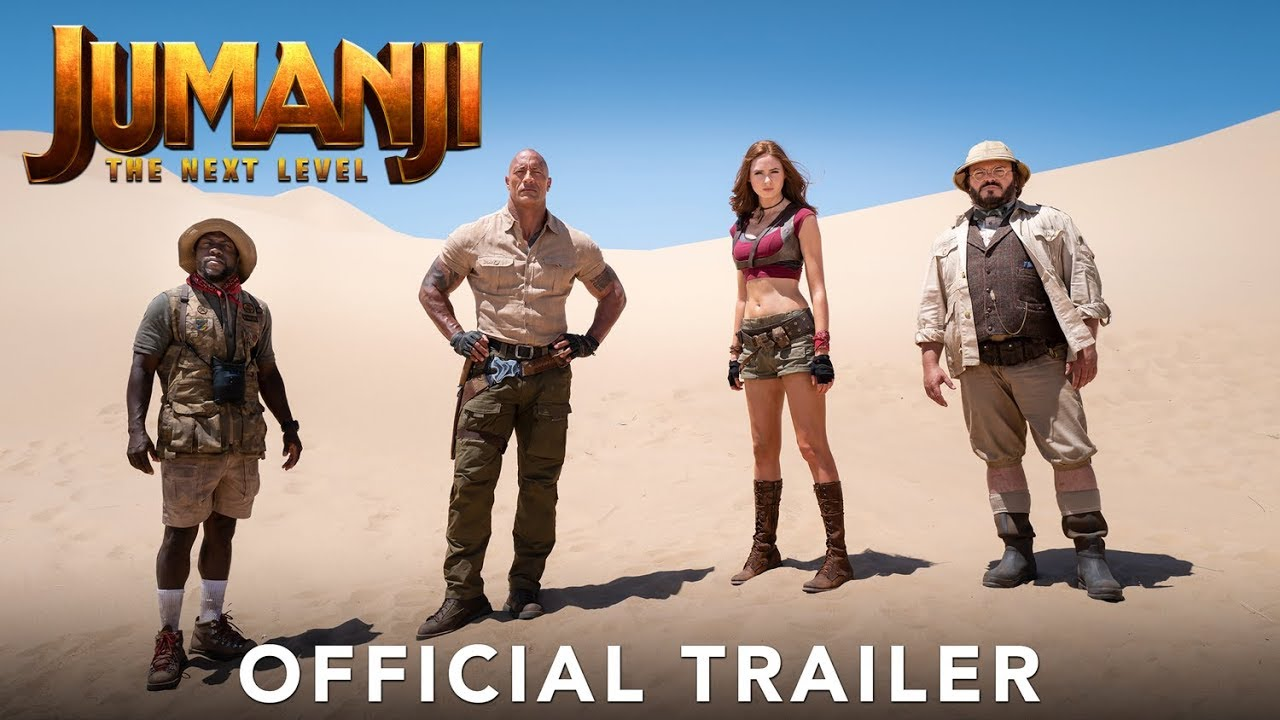 Photo of JUMANJI: THE NEXT LEVEL – Official Trailer (HD)