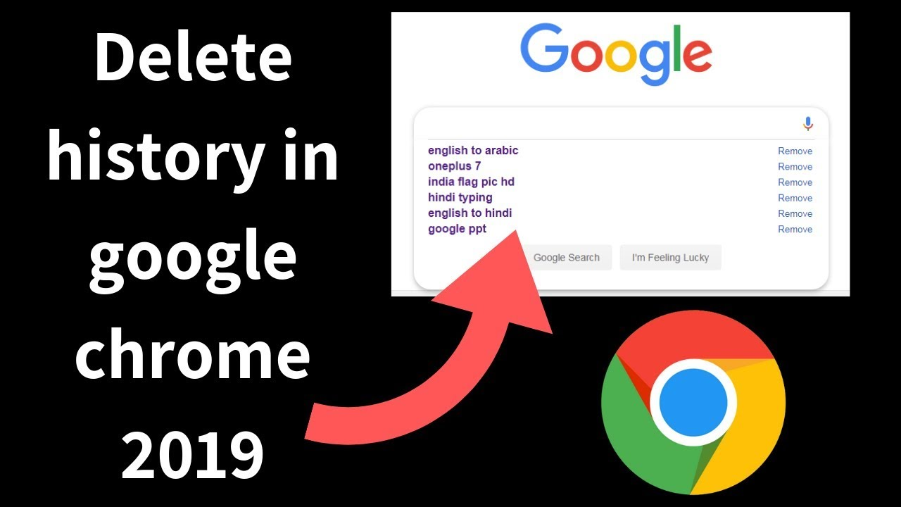 How to delete history in google chrome 2019 android