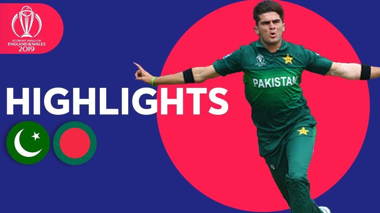 Photo of Pakistan vs Bangladesh – Match Highlights | ICC Cricket World Cup 2019