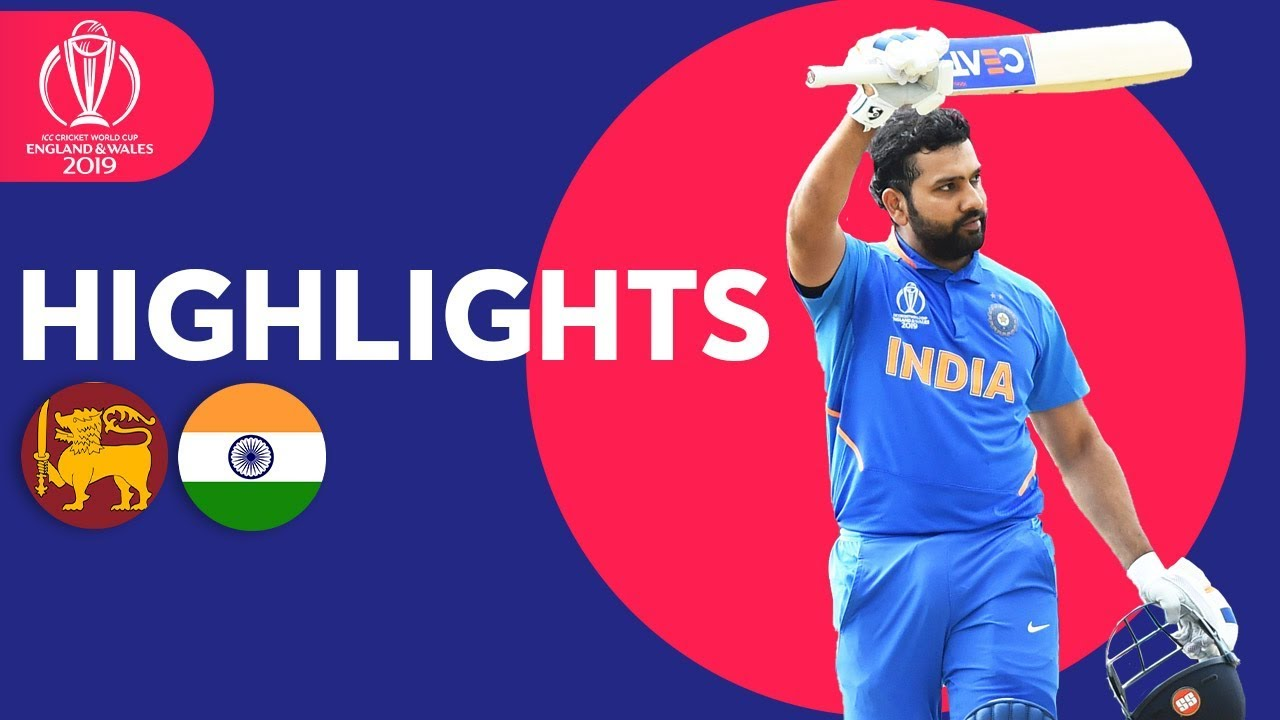Photo of Sri Lanka vs India – Match Highlights | ICC Cricket World Cup 2019