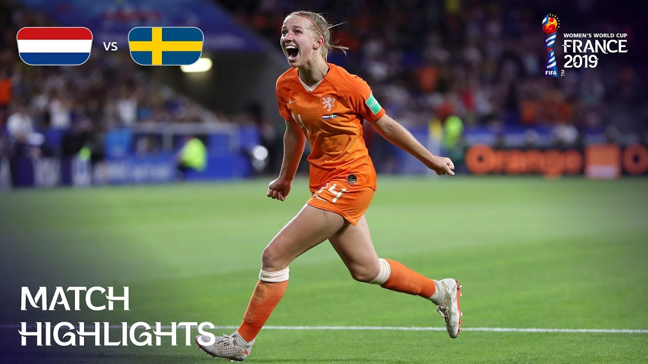 Photo of Netherlands v Sweden – FIFA Women's World Cup France 2019™