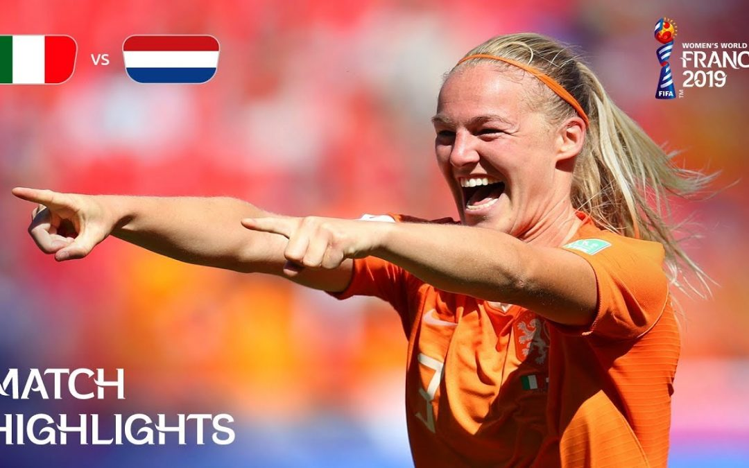 Italy v Netherlands – FIFA Women's World Cup France 2019™
