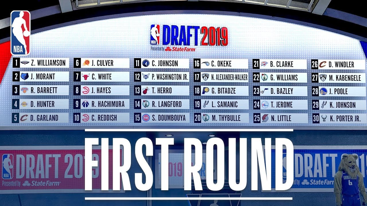 Photo of EVERY PICK from the First Round | 2019 NBA Draft