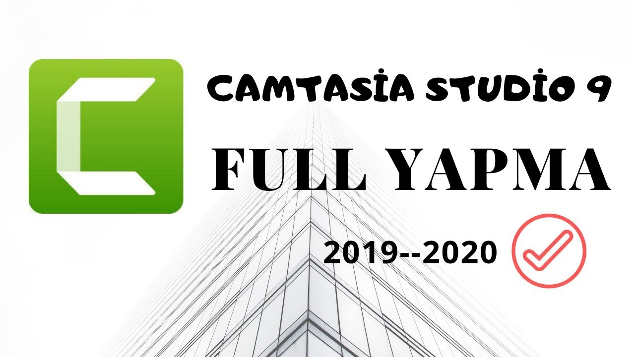 Photo of Camtasia Studio 9 Full Yapma ! 2019-2020 -Eğitim