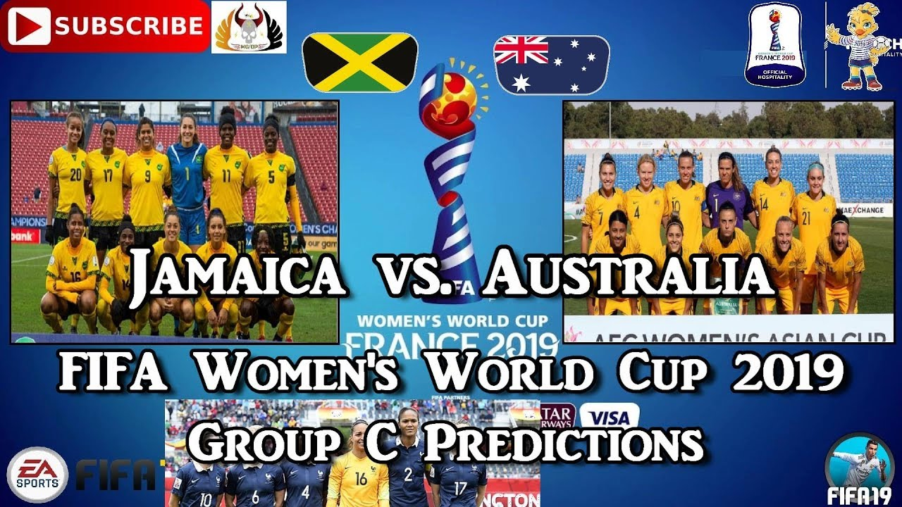Jamaica vs. Australia | FIFA Women's World Cup 2019 | Group C Predictions FIFA 19