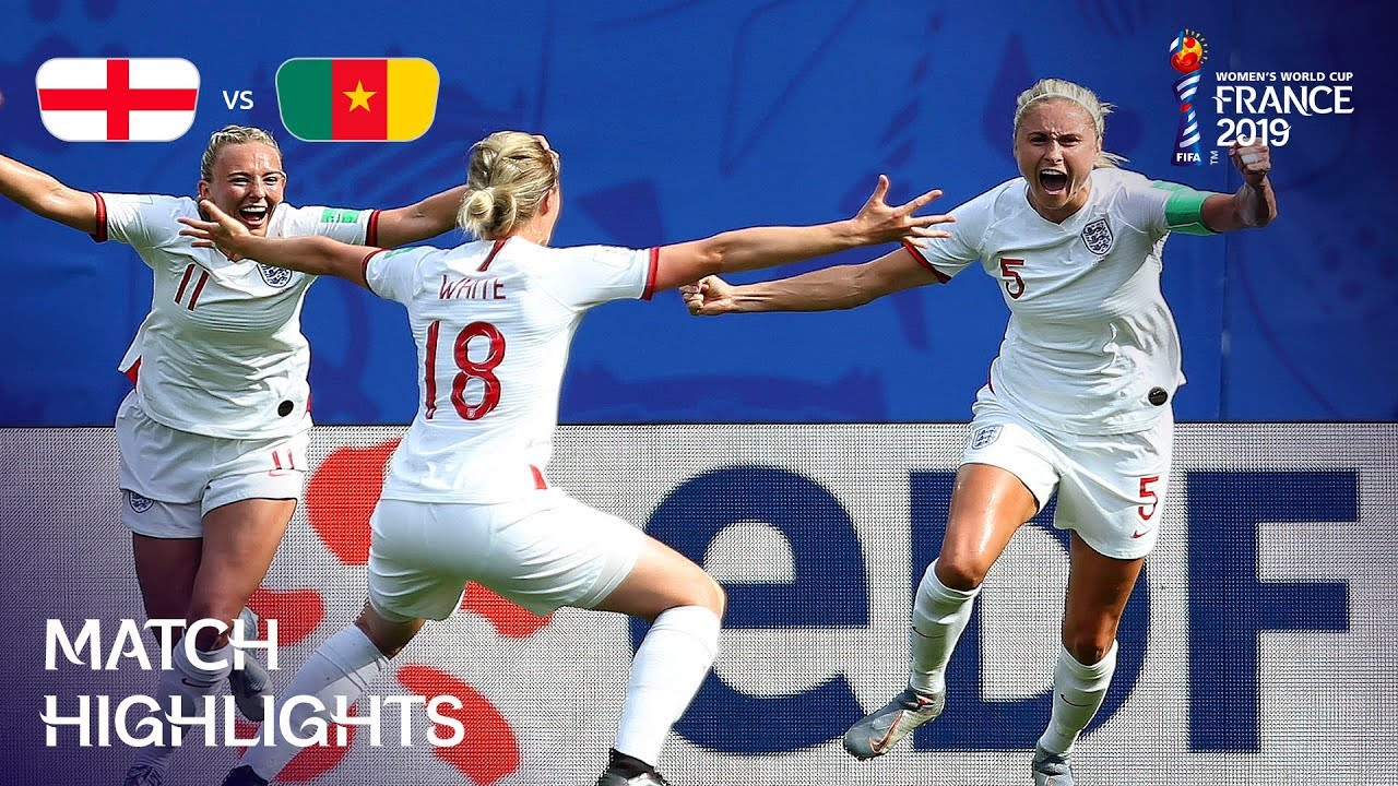 England v Cameroon – FIFA Women's World Cup France 2019™