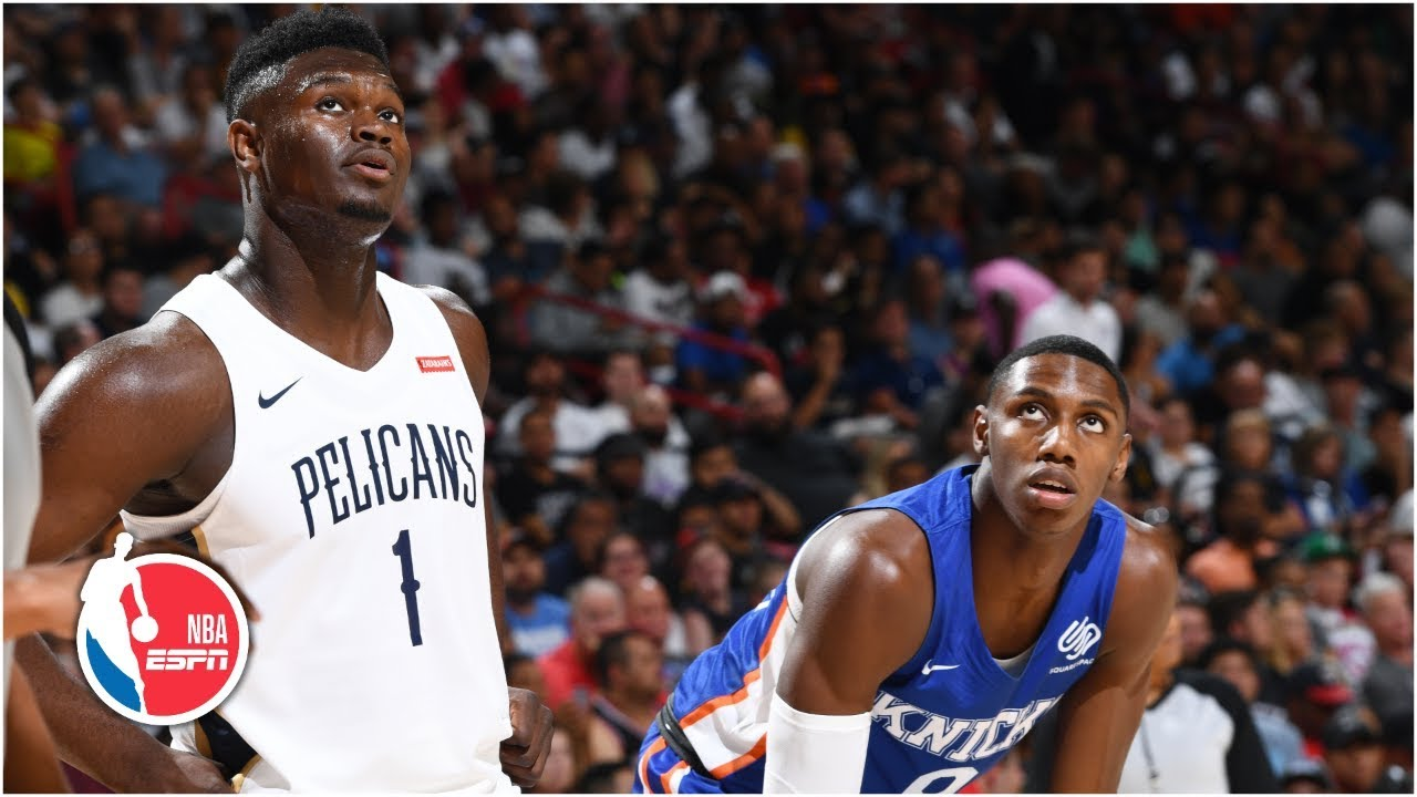 Zion Williamson vs. RJ Barrett cut short due to California earthquake | 2019 NBA Summer League