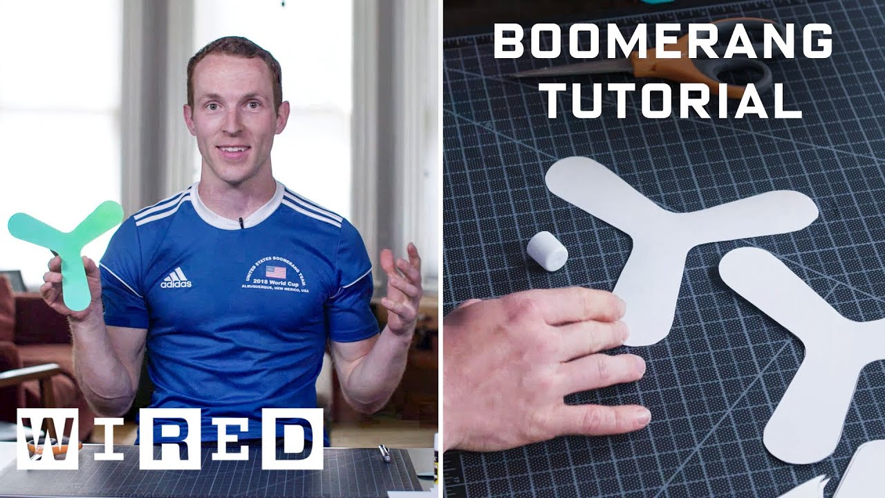 Photo of How to Make and Throw an Indoor Boomerang | WIRED