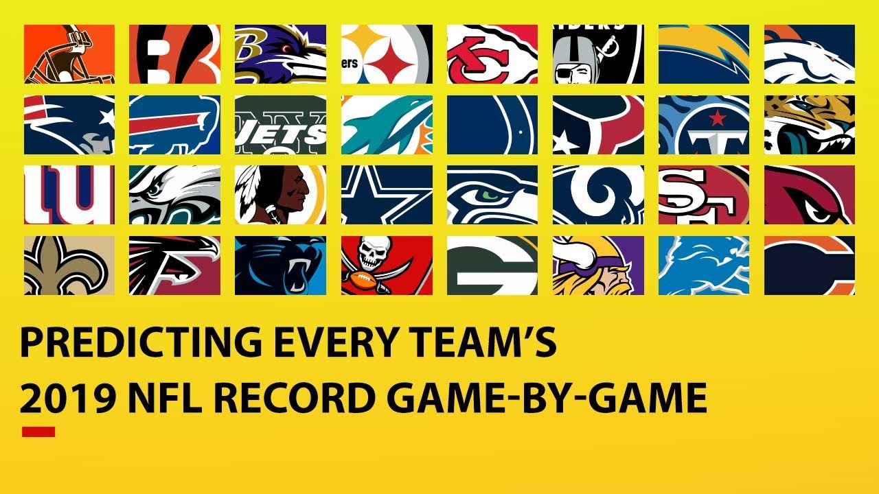 Photo of Predicting ALL 32 TEAMS 2019 NFL Record Game-by-Game