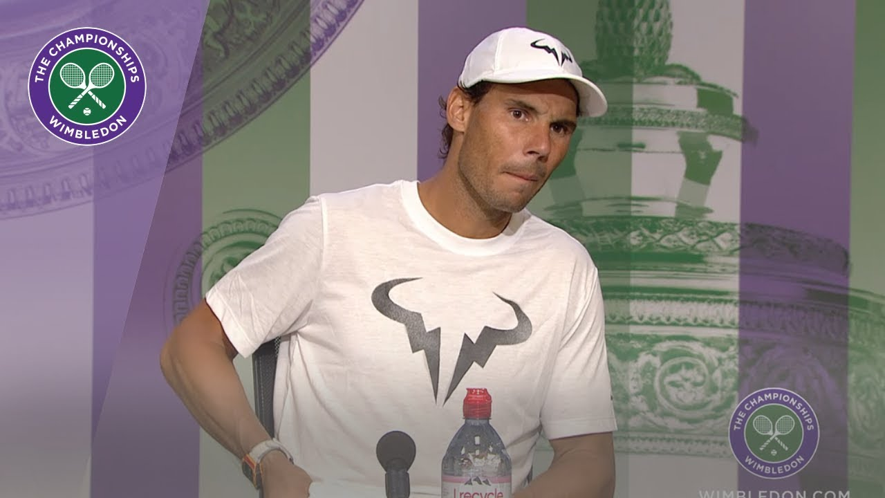 Photo of Rafael Nadal Wimbledon 2019 Second Round Press Conference