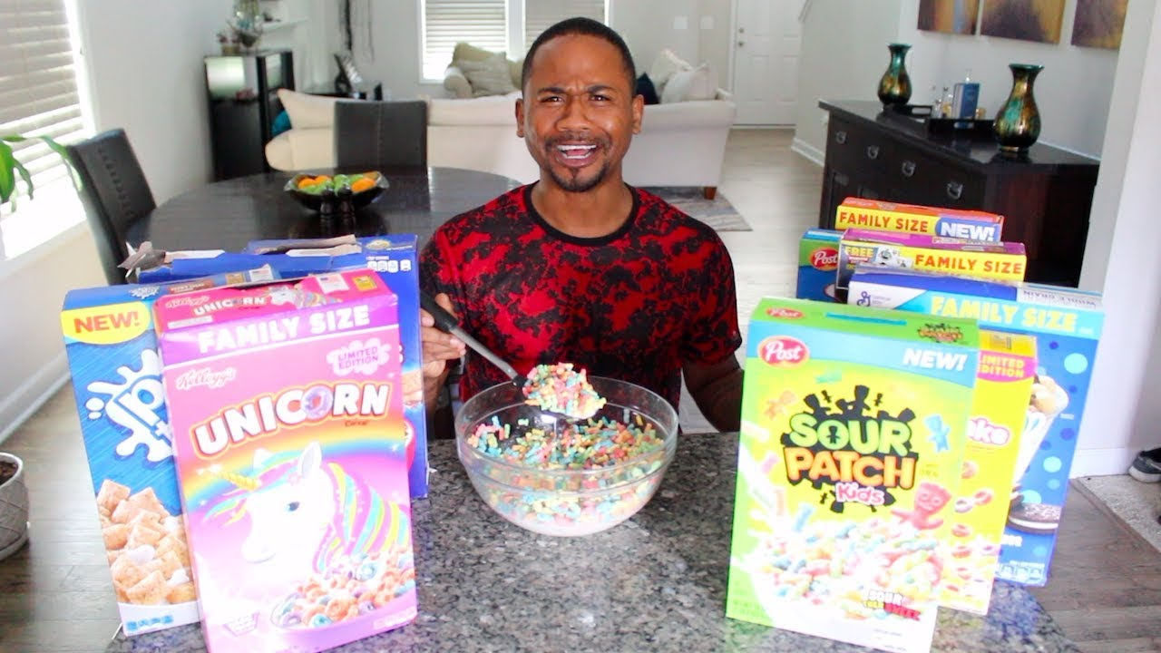 Photo of EATING All The WEIRD Cereals of 2019 | TASTE TEST | Alonzo Lerone