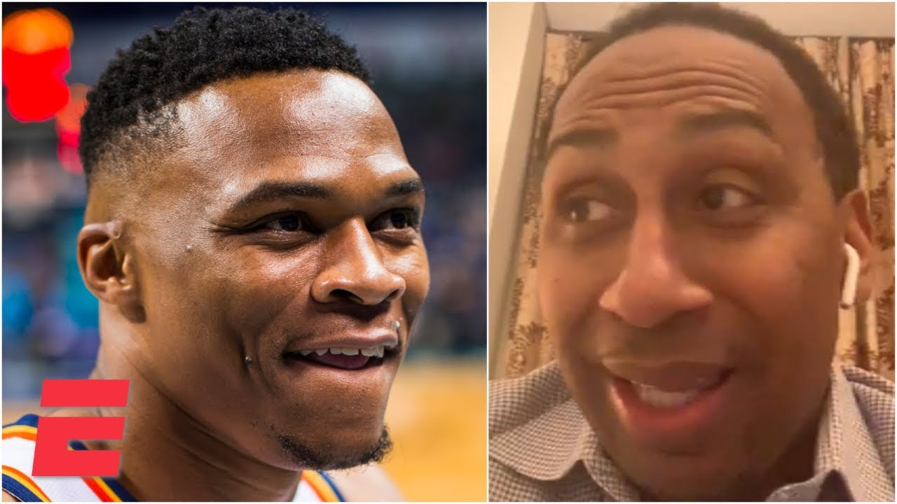 'Have mercy!' – Stephen A. reacts to Russell Westbrook to the Rockets | 2019 NBA Free Agency