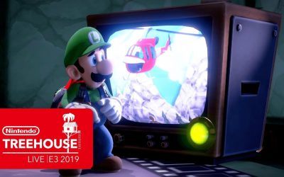 Luigi's Mansion 3 Gameplay Pt. 1 – Nintendo Treehouse: Live | E3 2019