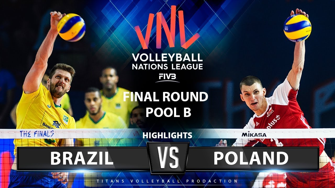 Photo of Brazil vs Poland | Highlights | Final Round Pool B | Men's VNL 2019