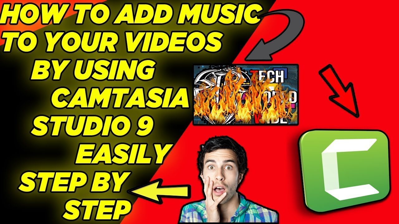 Photo of How To Add Music To Your Videos By Using Camtasia Studio 9 Easily Step By Step