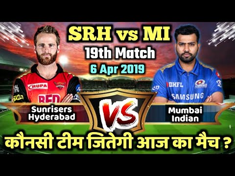 Photo of IPL 2019 MI vs SRH 19th Match Mumbai Indians vs Sunrisers Hyderabad Playing 11