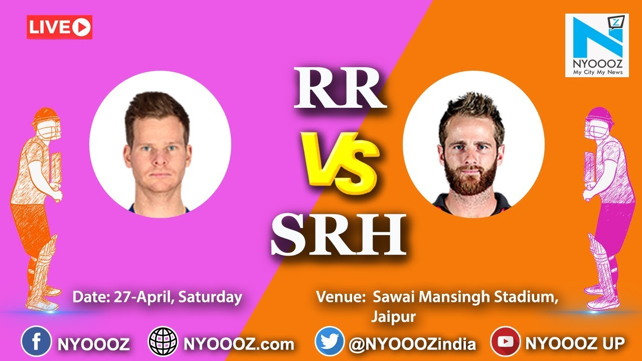Photo of Live IPL 2019 Match 45 Discussion: RR vs SRH | Sunrisers Hyderabad 160/8,Manish Pandey Out At 61