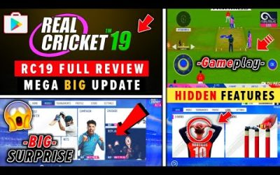 Real Cricket 19™ Full Review Hidden Features, Gameplay & HD Graphics | Multiplayer, IPL 2019
