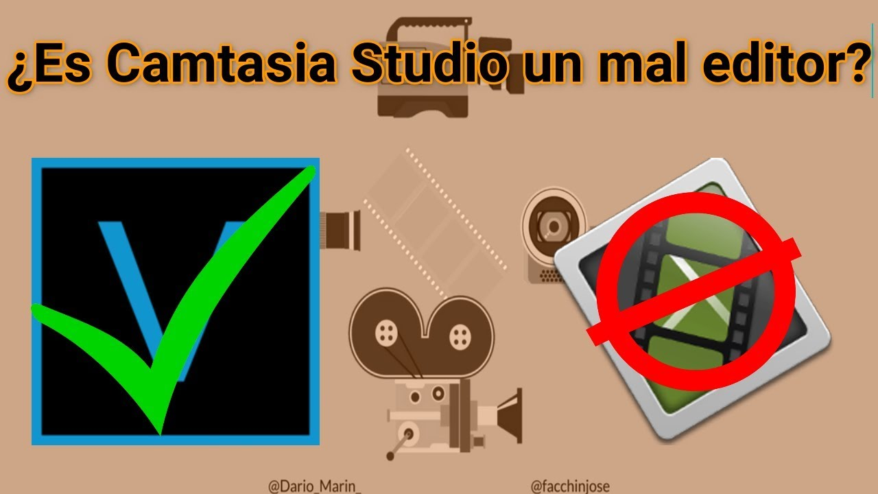 Photo of Camtasia Studio ¿Un mal editor?