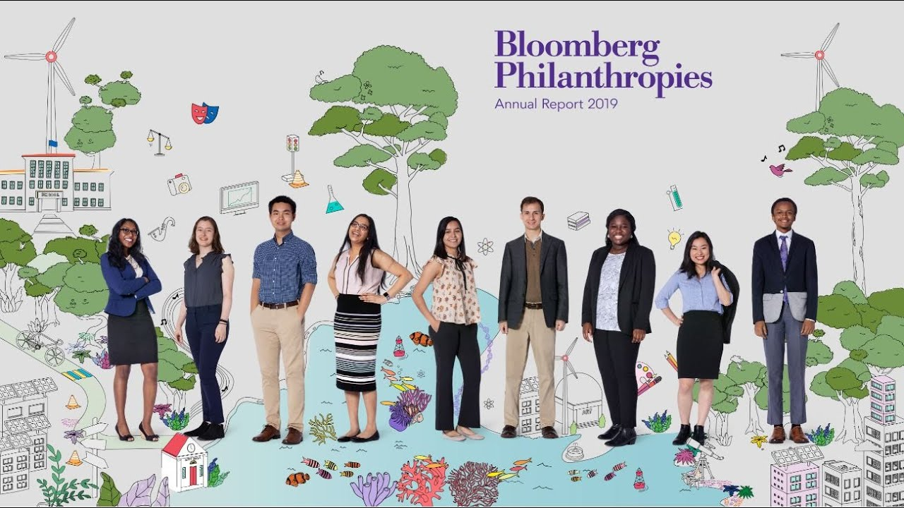 Photo of Mike Bloomberg Introduces the 2019 Bloomberg Philanthropies Annual Report