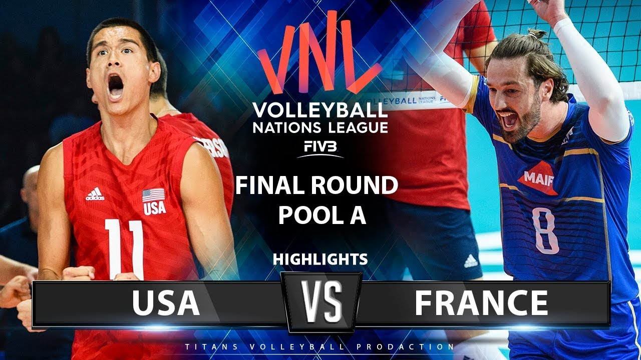 Photo of USA vs France | Highlights | Final Round Pool A | Mmen's VNL 2019