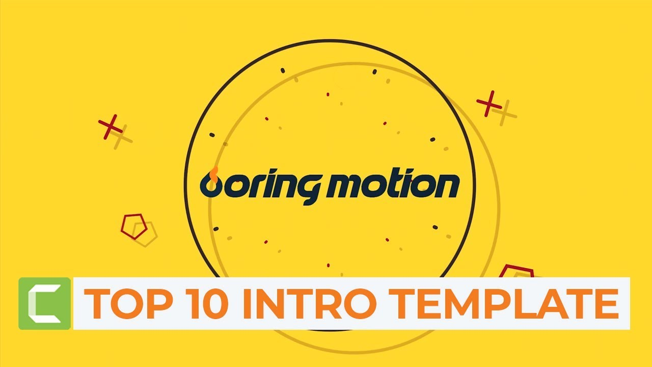 Photo of Top 10 Editable Intro Templates for Camtasia Studio | Free Intro Download #2