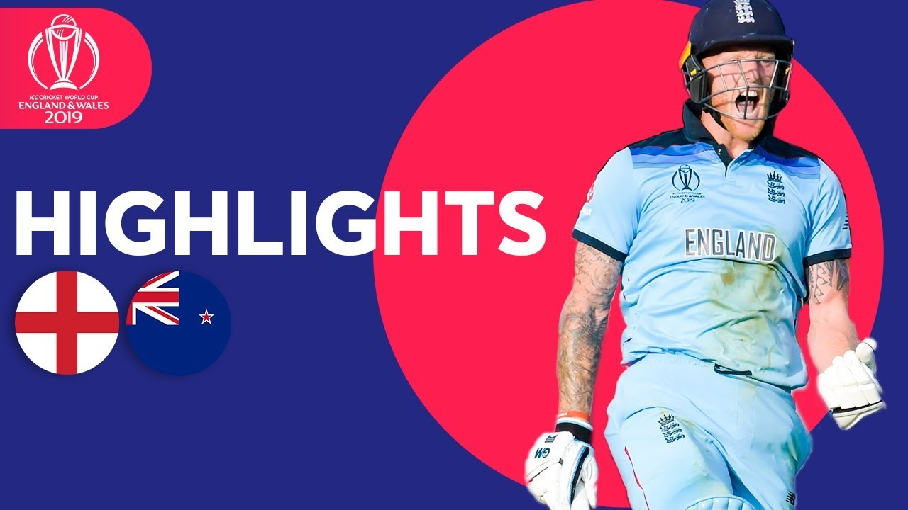 England vs New Zealand – Match Highlights | ICC Cricket World Cup 2019