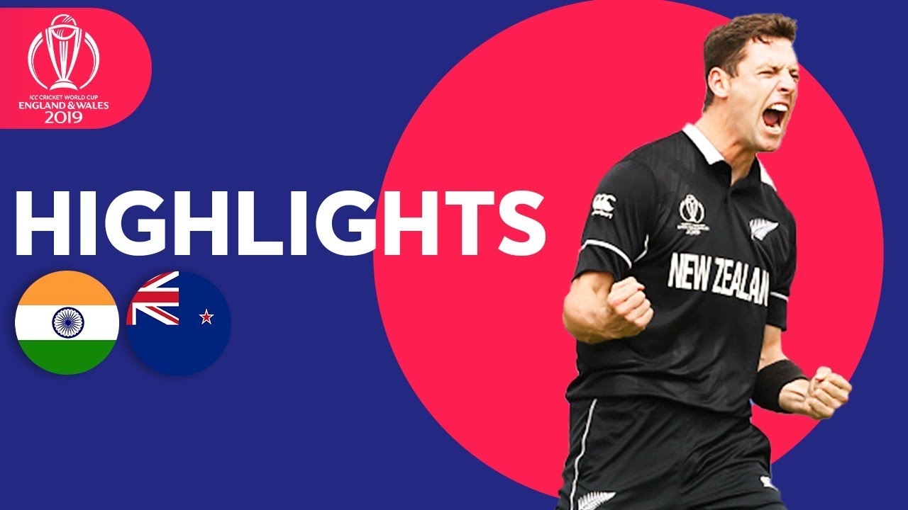 India Stunned By Boult & Henry | India vs New Zealand – Highlights | ICC Cricket World Cup 2019