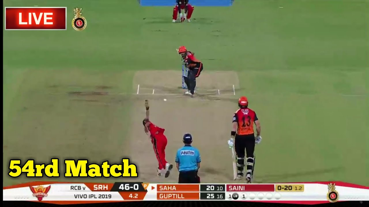 Photo of LIVE – IPL 2019 Live Score, RCB vs SRH Live Cricket match highlights today