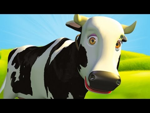 Mrs Cow – The Farm Song for Kids, Children's Music