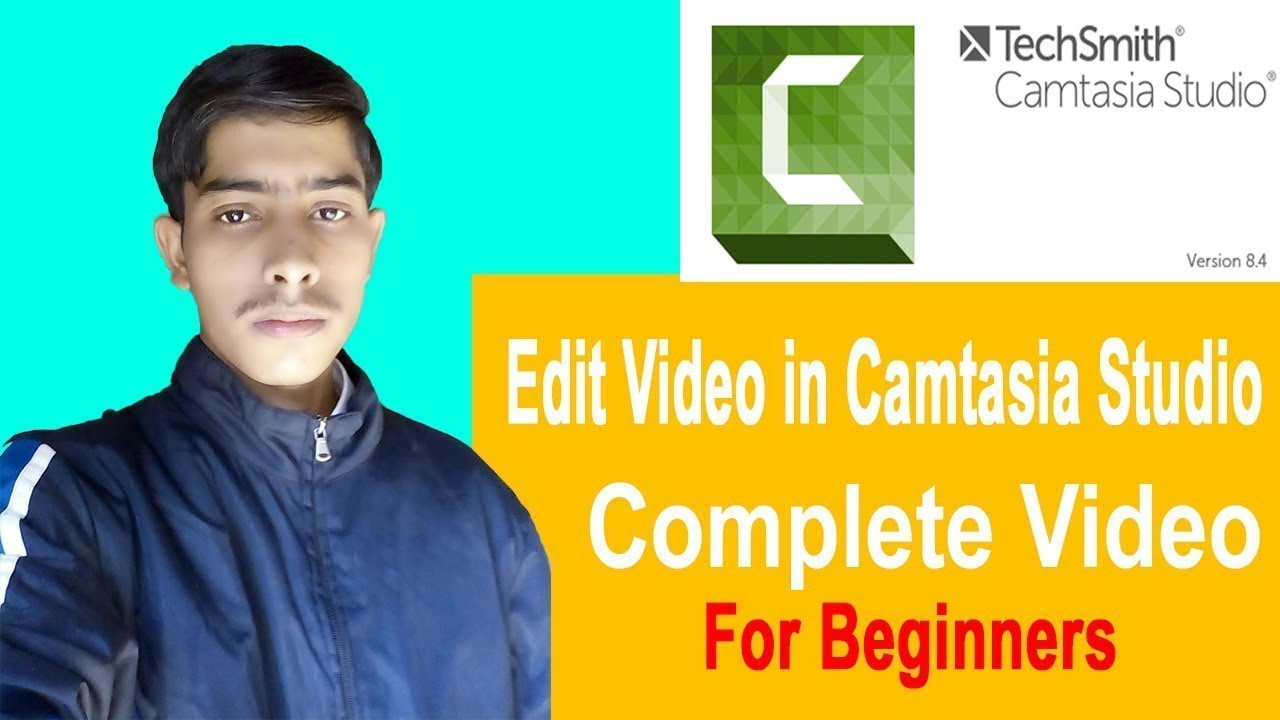 How To Edit Video in Camtasia Studio Complete Video For Beginners | By Guru Pakistani