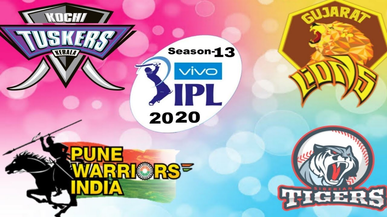 Ipl 2020  Features 10 teams | See 2 New Teams |