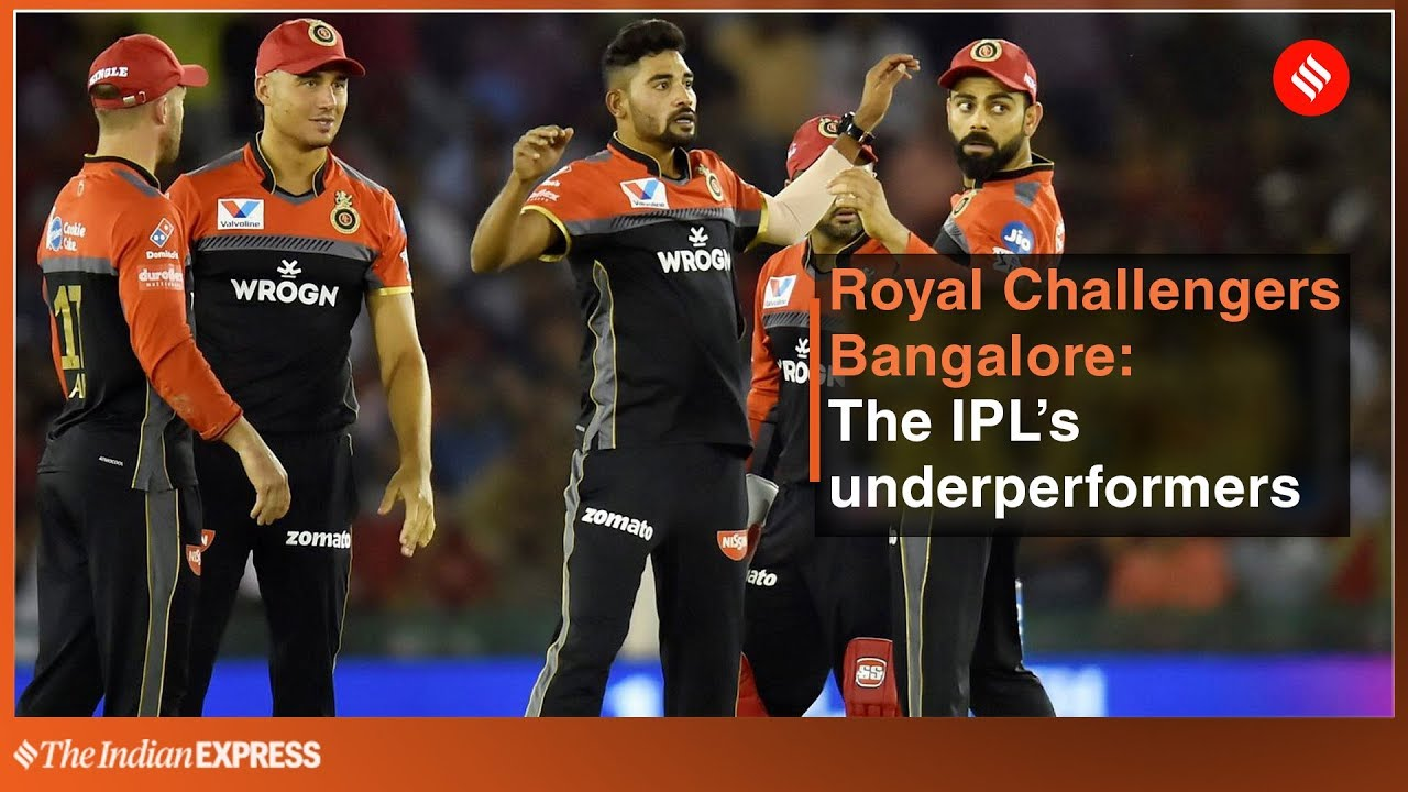 Royal Challengers Bangalore: The IPL's Underperformers | IPL 2019