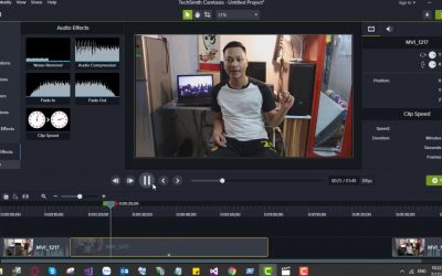Tua nhanh video clip bằng Camtasia | Video Speed in Camtasia | Hướng dẫn camtasia